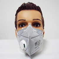 Activated Carbon Filter Respirator Protective Dust Face Mask