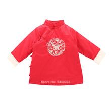 Детская традиционная одежда в азиатском стиле; Костюм Тан; Платье Чонсам; Новогоднее праздничное платье с вышивкой в виде Орла для мальчико...(Китай)
