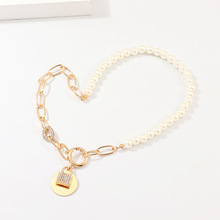 Lock Hanger Hangslot Charm <span class=keywords><strong>Ketting</strong></span> Vrouwen Sieraden Gift <span class=keywords><strong>Statement</strong></span> <span class=keywords><strong>Ketting</strong></span> Legering Parel Kralen <span class=keywords><strong>Ketting</strong></span> <span class=keywords><strong>Ketting</strong></span>