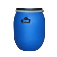 Customized plastic drum 60l, plastic drums barrels
