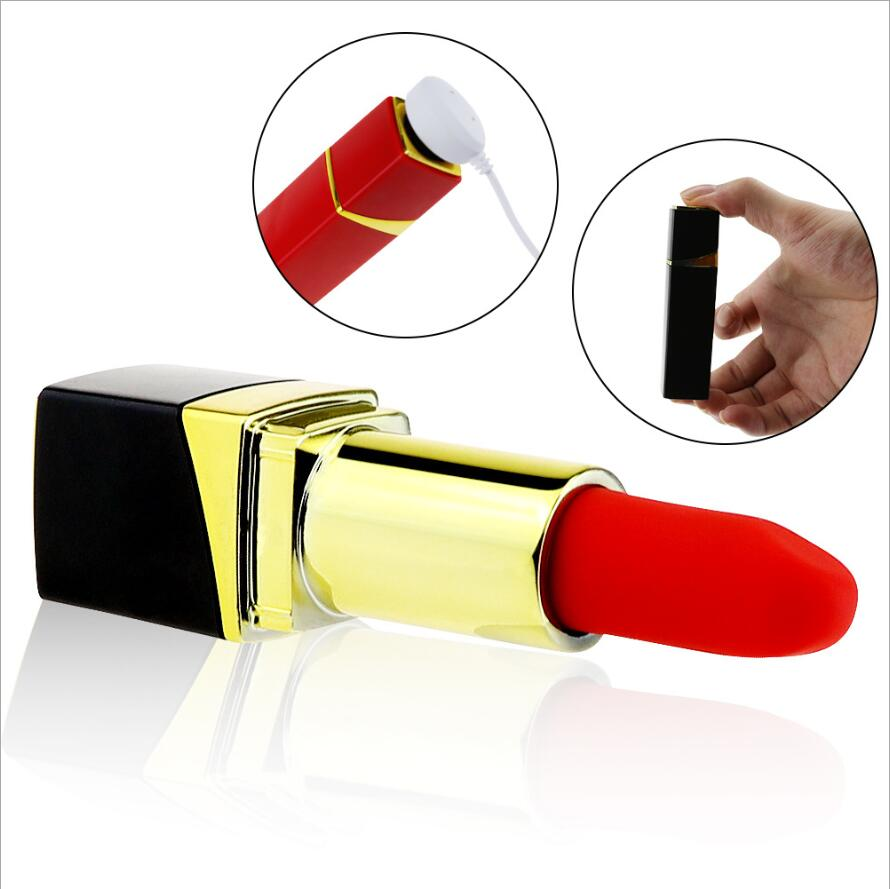 Top USB rechargeable bullet lipstick vibrator for personal massage