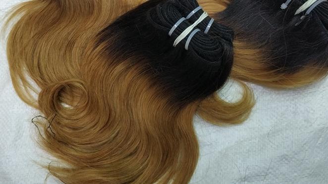 Letsfly dei capelli del commercio all'ingrosso 30pcs 2kgs 100% remy africa donna dei capelli 10inch breve a buon mercato reale umani di remy di estensioni dei capelli