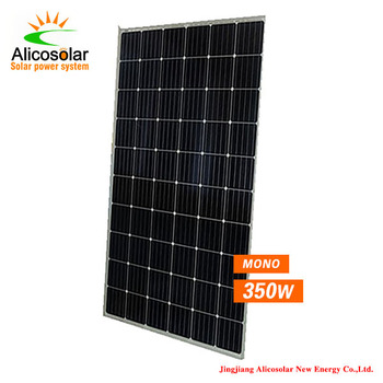 high efficiency  Solar Module  mono on grid panel 350W 24V Solar Panel system  3KW  For home use own indoor