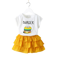 Taiwan Children Clothes Lovely Boutique Kids Girls Shirts Dress With Pattern From Children Clothing Factory In China