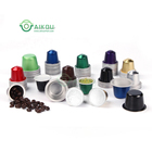 Coffee Coffee Capsule Oem Empty Eco Friendly Green Tea Martello Aluminum Foil Espresso Pod Maker Seal Lid Compatible Cafe Nesspresso Coffee Capsule