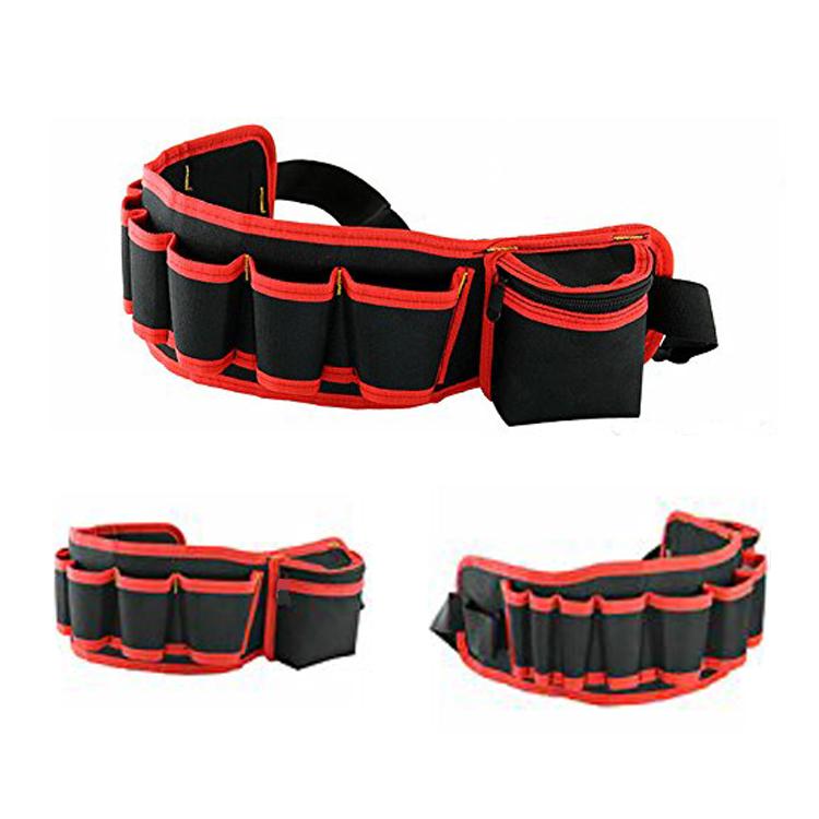 Herramienta de la cintura bolsa de Oxford herramienta multifuncional bolso de la cintura 8 cinturón de herramientas.