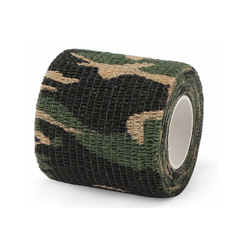 100% Cotton Wholesale Wild Outdoor Forest Cotton Camo Clothing Camouflage Tape For Military