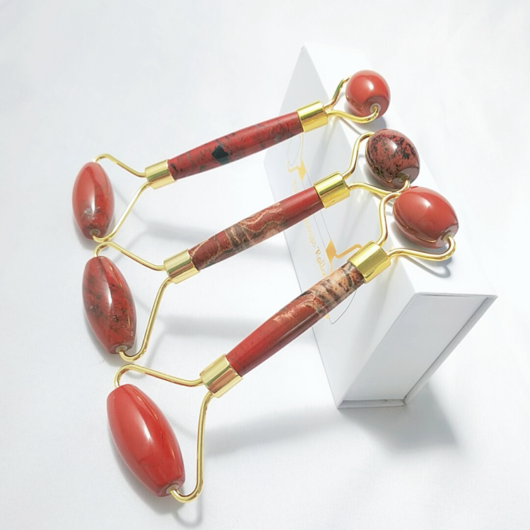 New type red jade roller massage how to use massager
