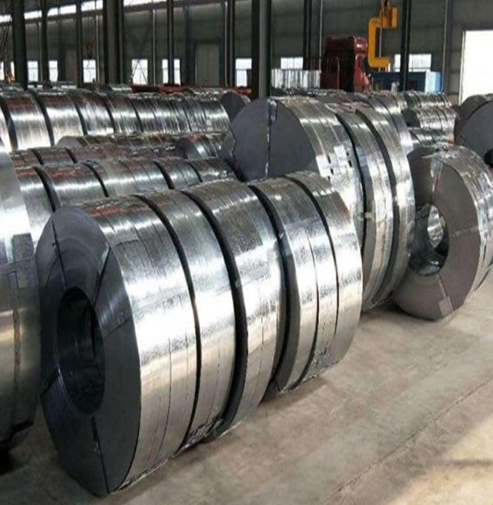 Hot dip zinc coated steel coil/strip for sale