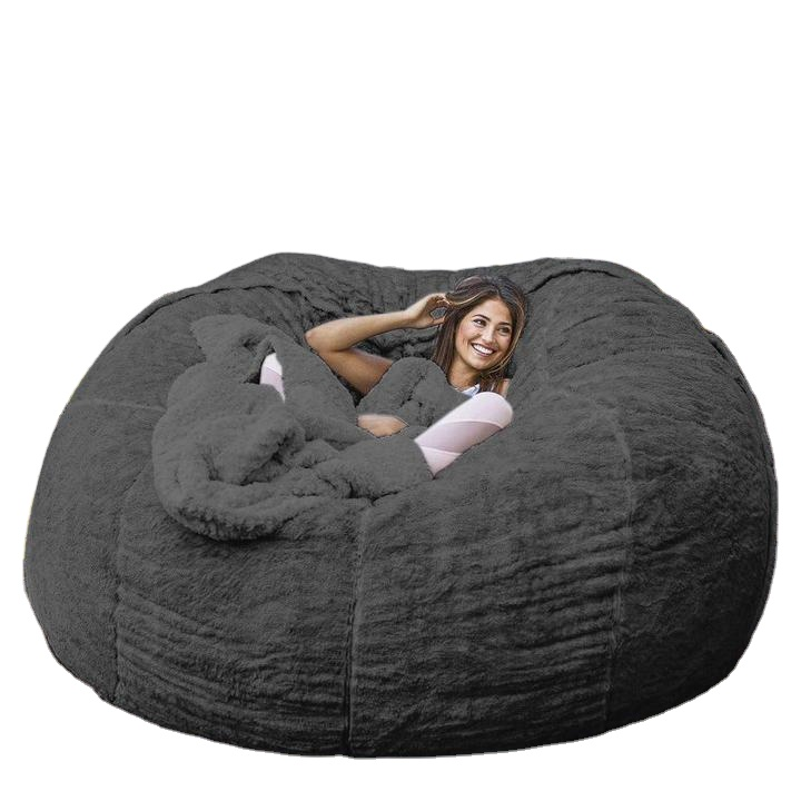 5 FEET New selling superior quality multi-function eco-friendly oversized bean bag chair, Picture shows