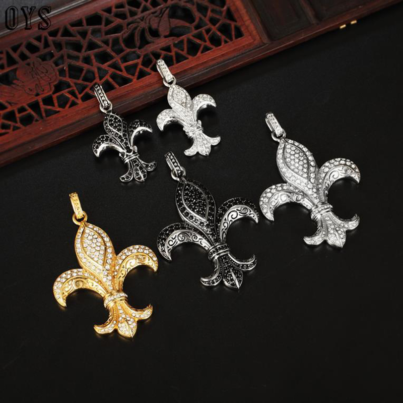 product-Gold Plated Stainless Steel Women Cubic Zirconia Iris Necklace-BEYALY-img