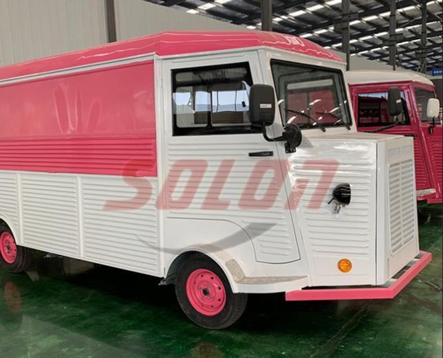 Hot selling ice cream food cart mobile fast food truck for sale