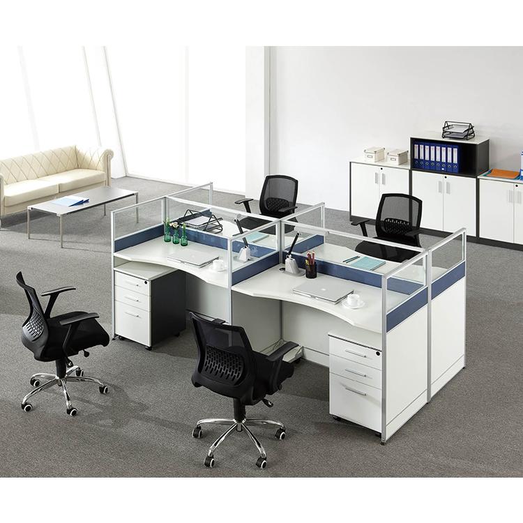 Nouveau Design Moderne Coworking Modulaire Cabine de Poste de Travail De Bureau De Poste de Travail de Bureau