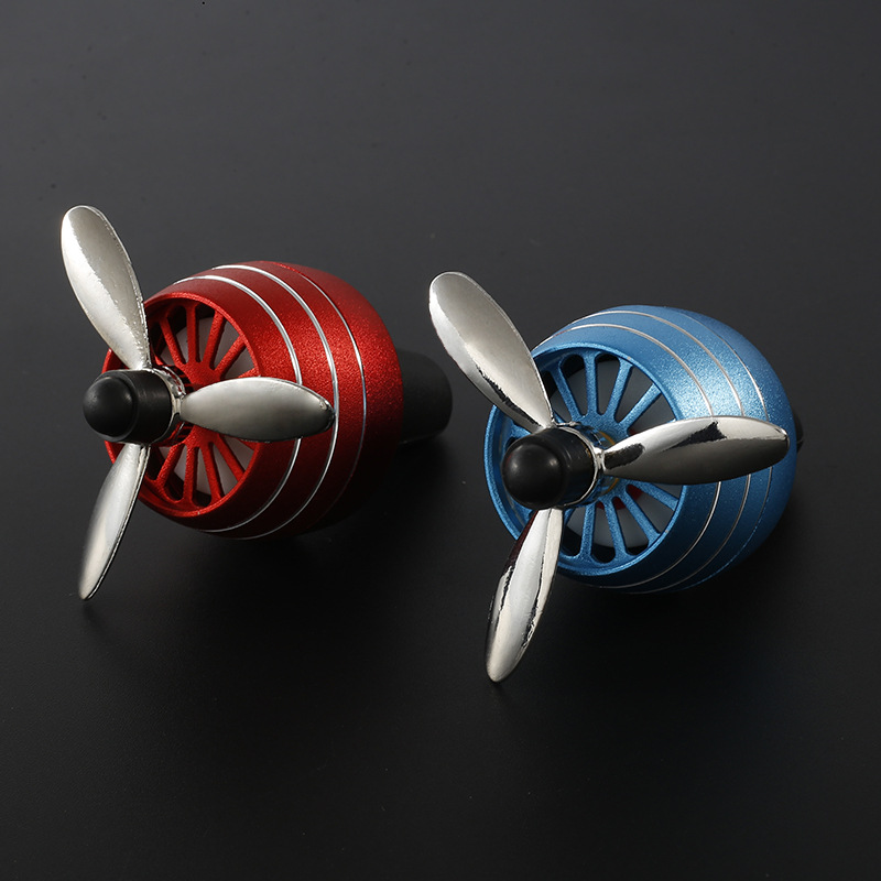 Car Perfume Air Freshener Mini Fan Auto Air Vent Clip Fan Metal Outlet Car Fans