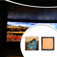 Low Power Consumption p3 indoor led large screen display with 2 years warranty