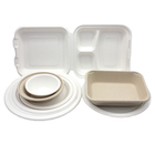 Wheat Straw Biodegradable Take Out Food Container Restaurant