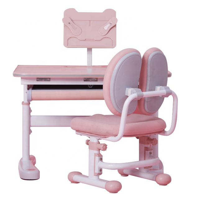 IGROW high quality kids study desk and chair set, children learning desk and chair set.