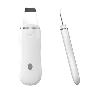 Portable electric facial dead skin peeling machine professional sonic face cleaning spatula ultrasonic skin scrubber