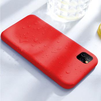 Four-edged Full Cover Case for iphone X XS ,For iphone 11 XIR 6.1inch Silicone Case with microfiber cloth inside New 2019