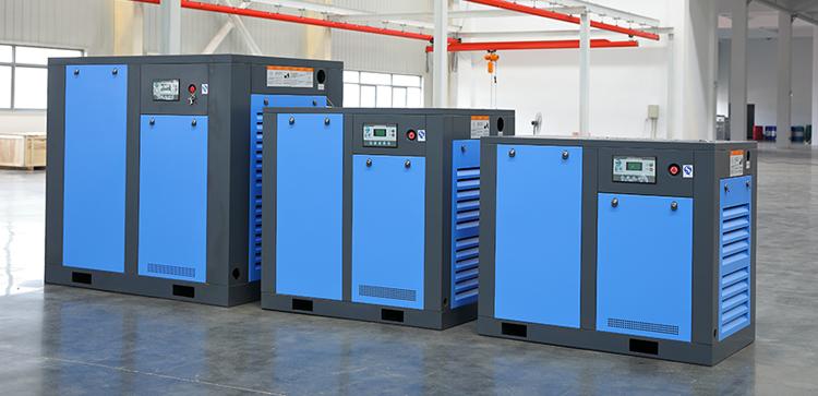 18.5KW 7.5kw 3m3/min Industrial Screw Compressor with 7-13bar Pressure double screw air compressor