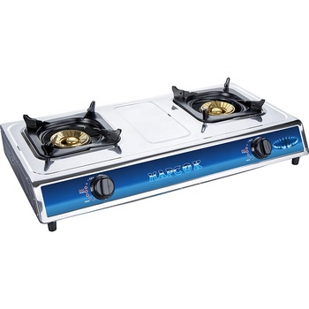 Made in China factory cheap sale 2 burner gas stove oven