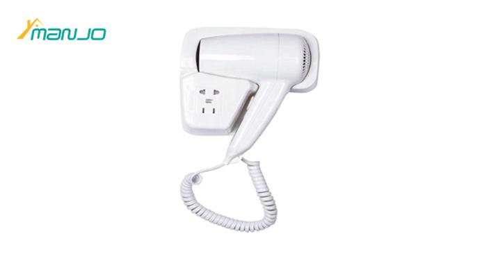 Hospitality Nightlight design Hotel hair dryer bathroom Wall mounted hair drayer 220V