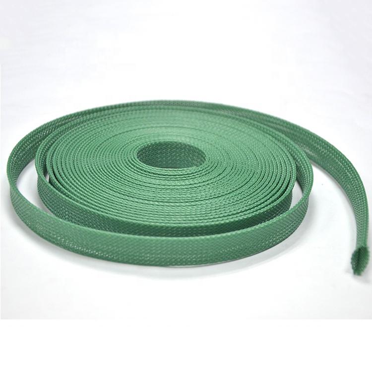 По ограничению на использование опасных материалов в производстве сертификат огнестойкий расширяемый Электрический провод ПЭТ плетеная оболочка