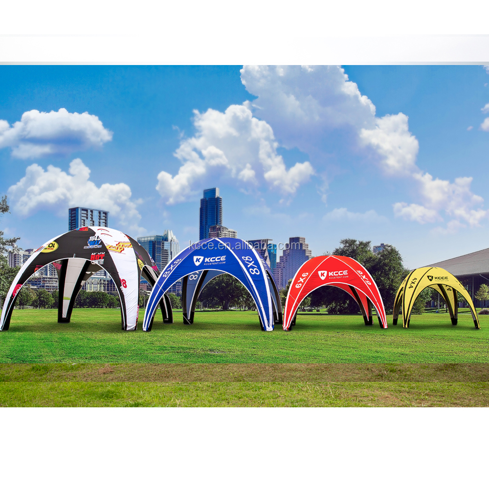 KCCE Customized colorful printing Waterproof Inflatable Party Tent//