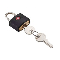 small brass padlock TSA luggage key lock