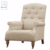 New Modern White Wooden Tufted Simple Chair Designs