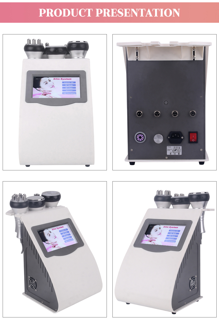 vacuum cavitation body slimming machine