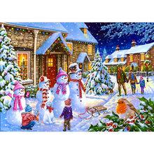 DIY 5D алмазная картина Санта-Клаус Рождественская Алмазная вышивка снеговик вышивка крестом полная круглая дрель искусство настенный Декор ...(Китай)
