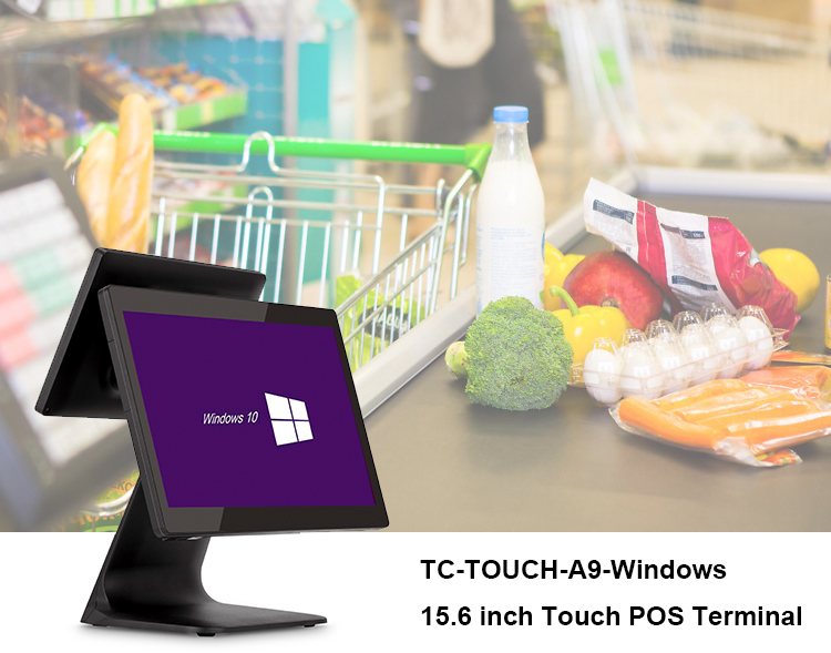 """15.6"""" Touch Screen Lottery Windows POS Machine Cheap POS system for Retail"""
