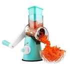 Mini multi blade Kitchen stainless rotary Mandoline Vegetable slicer