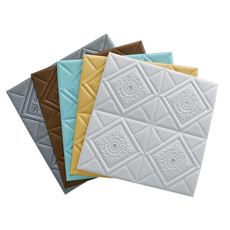 Household Modern waterproof pvc vinyl adhesive wall paper