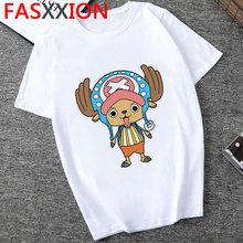 One Piece Футболка мужская, лето 2020, новый, японский аниме, мультфильм, футболка, Луффи Зоро, каваи, графика, хип-хоп, топ, аниме(Китай)