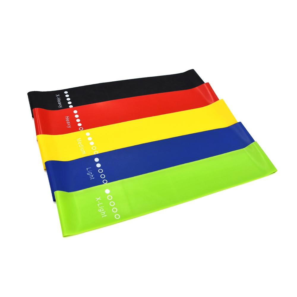 ZAKERDA Custom logo fitness latex exercises mini loop resistance bands set wholesale