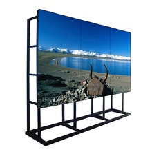 3X3 65 Inch Ultra Narrow Bezel Matrix LCD <span class=keywords><strong>Video</strong></span> Dinding <span class=keywords><strong>Ruang</strong></span> <span class=keywords><strong>Kontrol</strong></span>