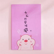 50 листов многоразового использования стираемый блокнот поросенок мультфильм Блокнот записная книжка как подарок для девочки сохранить бу...(Китай)