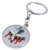 Top Quality Custom Design 3D Racing Car Metal Key chain From F1 Racing Gifts