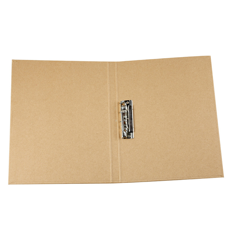New custom cheap high level a4 size kraft paper folder