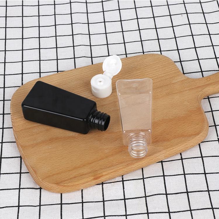 ペット 50 ミリリットル/20 ミリリットル空のラウンド形状化粧品ボトルとクリームの瓶セット