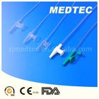 Disposable medical suction catheter types