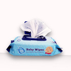 Non woven Material and Babies Age Group Face wipes