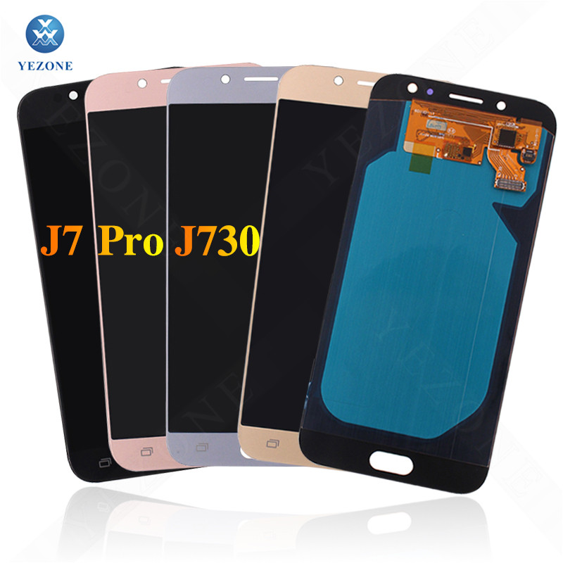 LCD Screen For Samsung Galaxy J7 Pro J730F J730 LCD Touch Display Digitizer Assembly