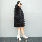New design fashion coat plus size fur jacket coats women fox fur coat women