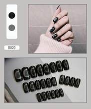 24 листа наклейки для ногтей Водонепроницаемая мнимый наклейки для ногтей пригодные для носки DIY гель съемный полный охват ногтей женщин нов...(Китай)