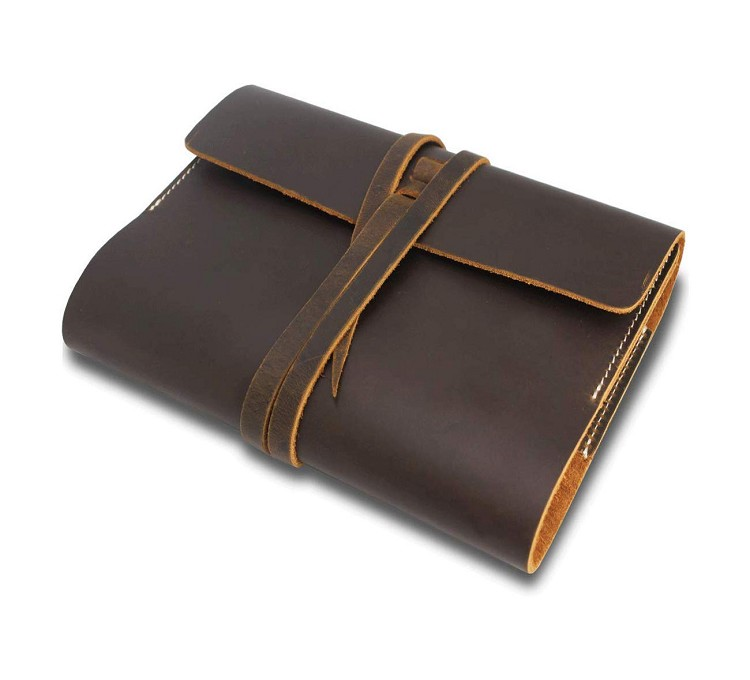 Traveler cowhide paper notebook Dubai wholesale diary factory premium quality free monogram ODM OEM refillable leather journals