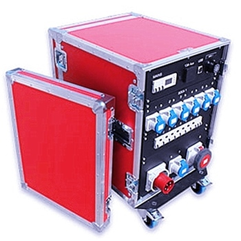 Customize waterproof dj aluminum rack flight case 16u