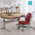 GMYD wooden ergonomic height adjustable study table children furniture